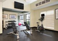 Fitness Center with bike and weights