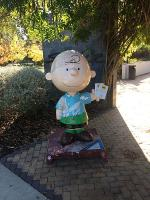 Charles M. Schulz Museum Charlie Brown Statue Front