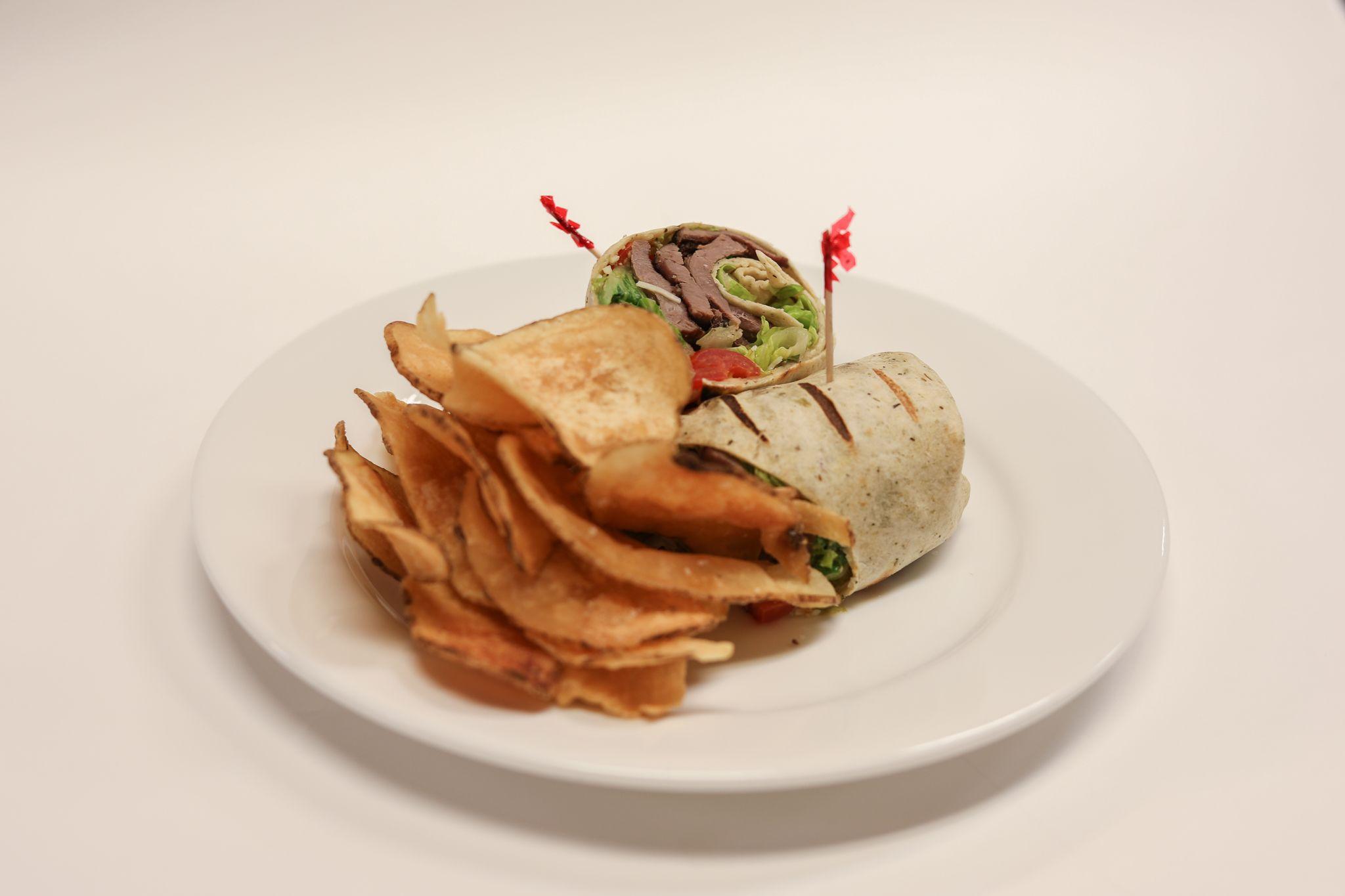 Grilled Caeser Steak Wrap