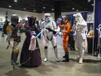 Long Beach Comic & Horror Con Star Wars Cosplay