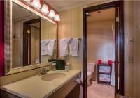Guest Room Bathroom & Vanity Area
