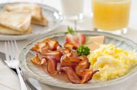 Egg And Bacon Breakfast