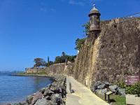 Paseo De La Princesa. Puerto Rico