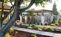 Hot Tub Garden Area At Best Western Garden Inn