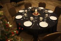 Table Setting Christmastime