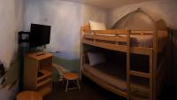 Family Suite - king bed with bunkbeds