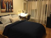 Full Bed Shared Bath Studio