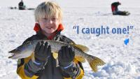 Ice Fishing with Children