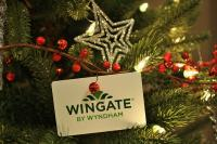 Tree Christmas at Wyndham Calgary Airport