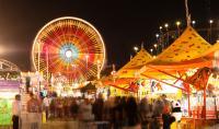 Carnival With Ferris Wheel